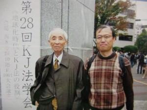 川喜田先生と会員の今橋さん